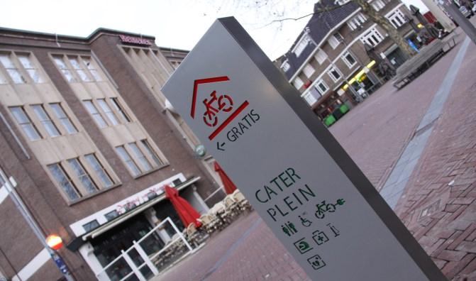 Fietszuil met led-verlichting - Apeldoorn - Erdi Straatmeubilair
