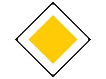 RVV Verkeersbord B01  (voorrangsweg)