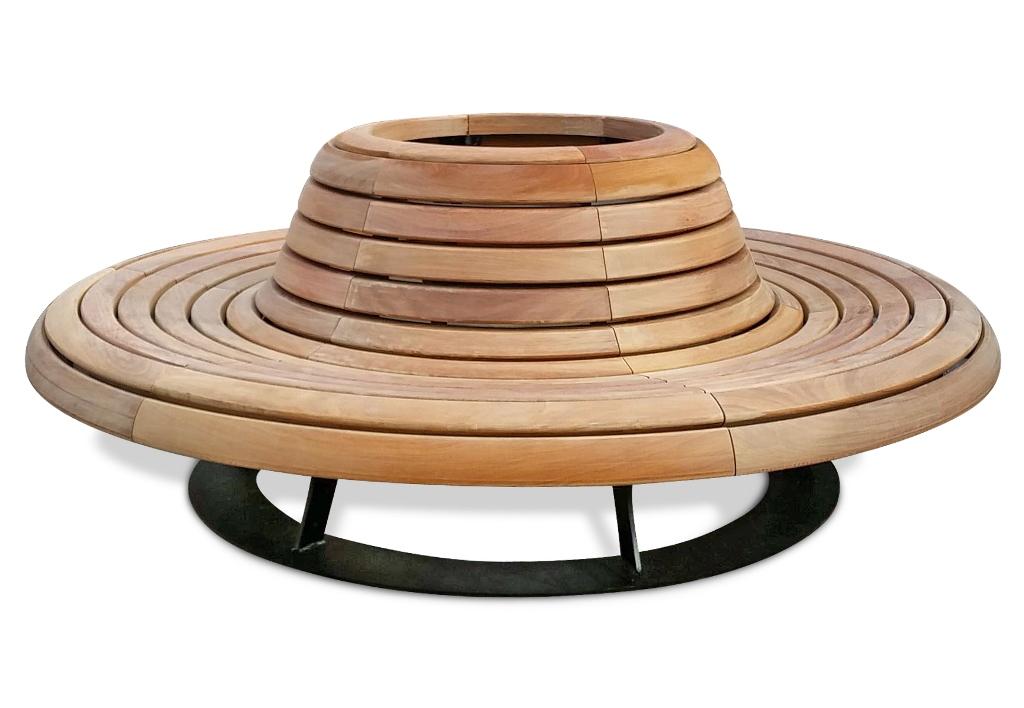 Buiten Zitbank - Boombank model Canapé Retro rond