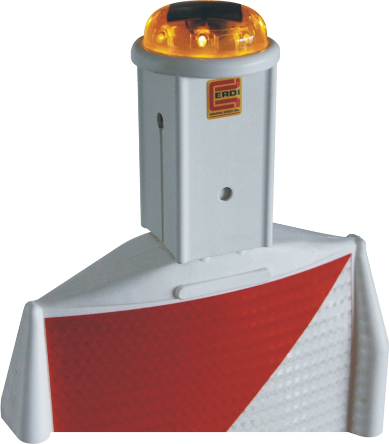 Geleidebaken Solar Flash knipperlamp met opzetstuk