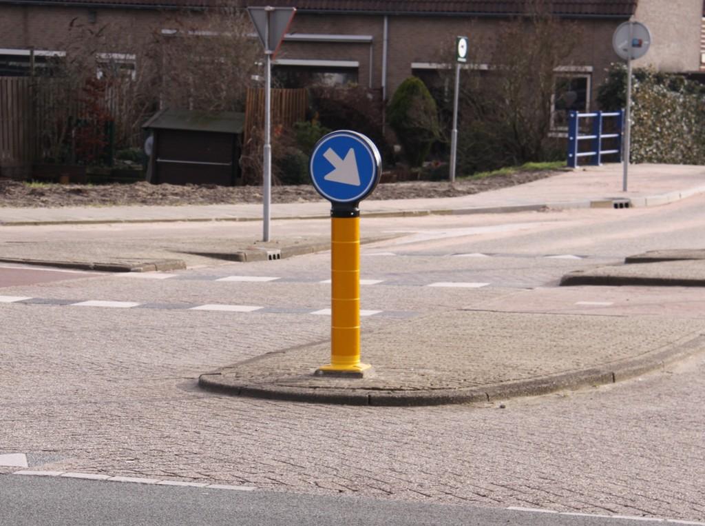 Verkeerszuil Flexpost BB22