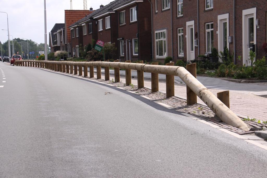 Houten geleiderails