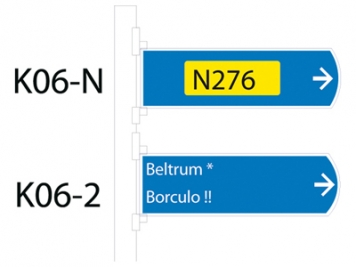 RVV Verkeersbord K06