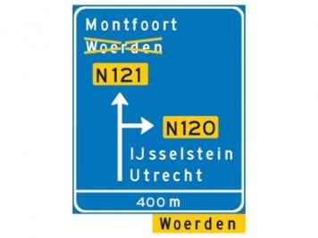 RVV Verkeersbord K09