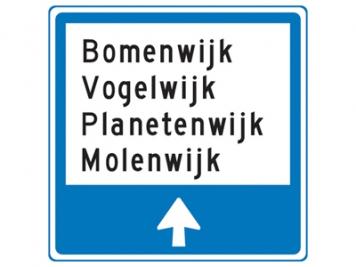 RVV Verkeersbord K12