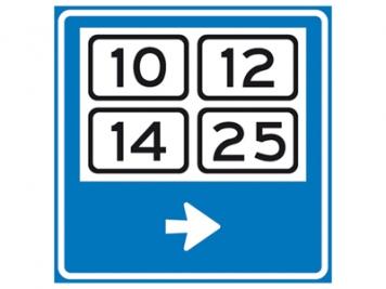 RVV Verkeersbord K13