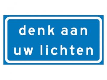 RVV Verkeersbord L203