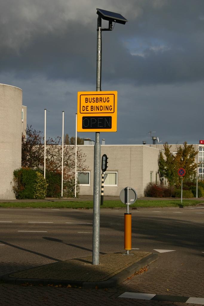 LED waarschuwingsborden