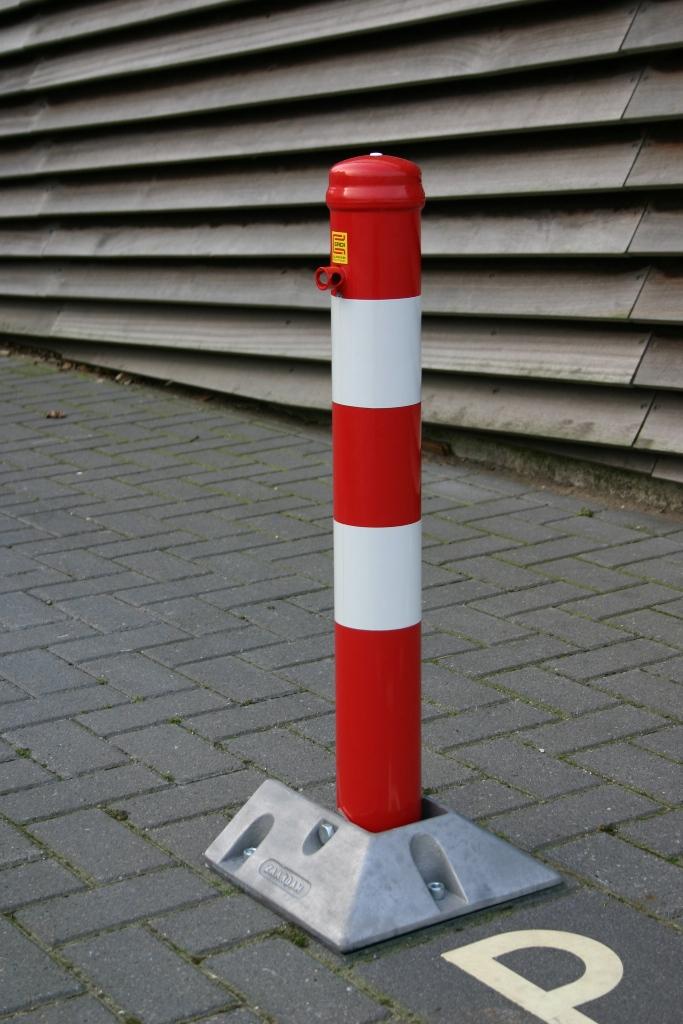 Afzetpaal - Insteek-klappaal Model 90