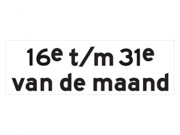 RVV Verkeersbord OB216p