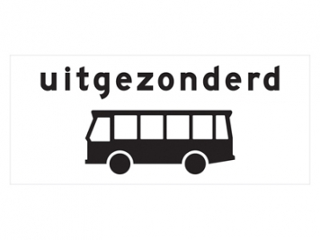 RVV Verkeersbord OB62
