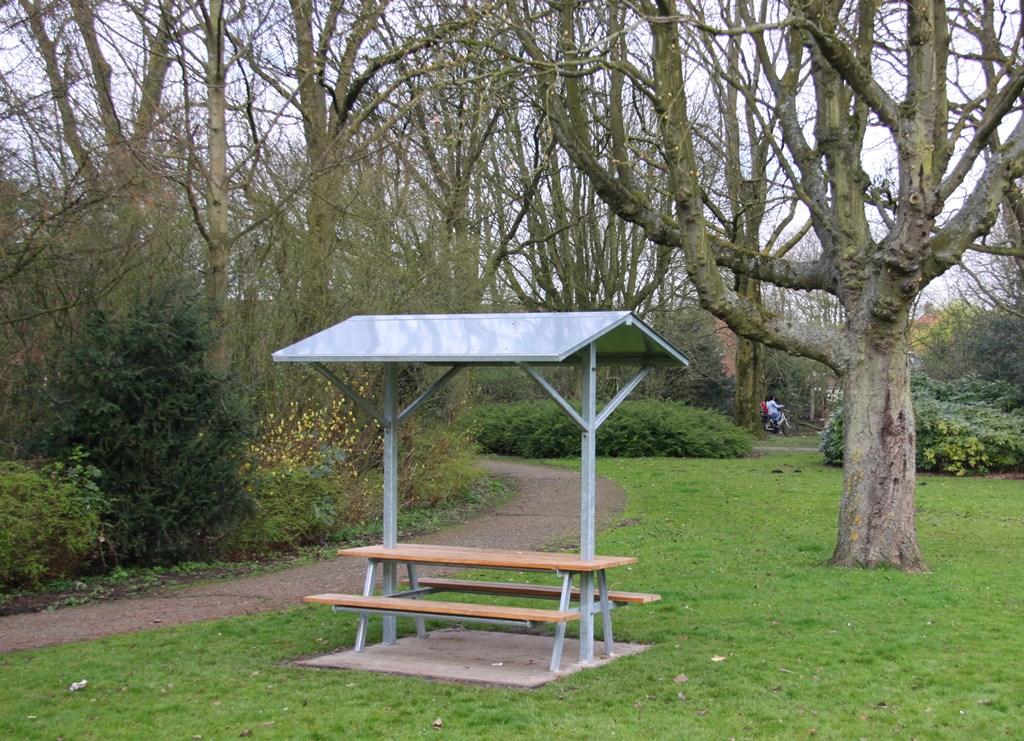 Buiten Zitbank - Parkbank model Picknick