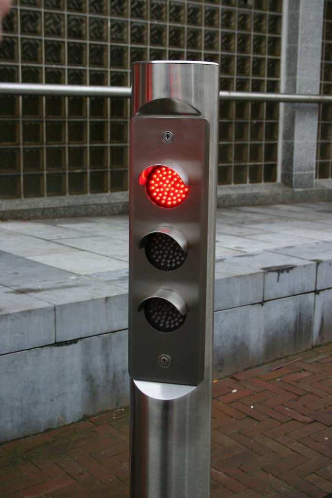 Regellicht - Verkeerslicht model 160 RVS (enkelzijdig)