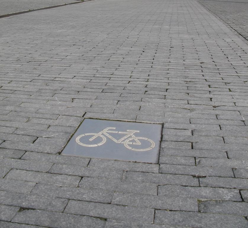 RVS straattegel