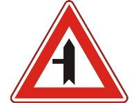 RVV Verkeersbord B04  (voorrangskruispunt)