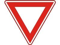RVV Verkeersbord B06  (u nadert een voorrangsweg)