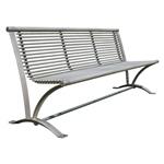 Buiten Zitbank - Parkbank  model Steel Wave 1800