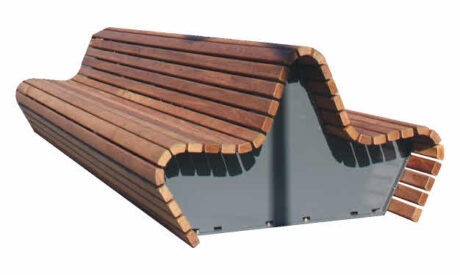 Buiten Zitbank model Canapé Wood