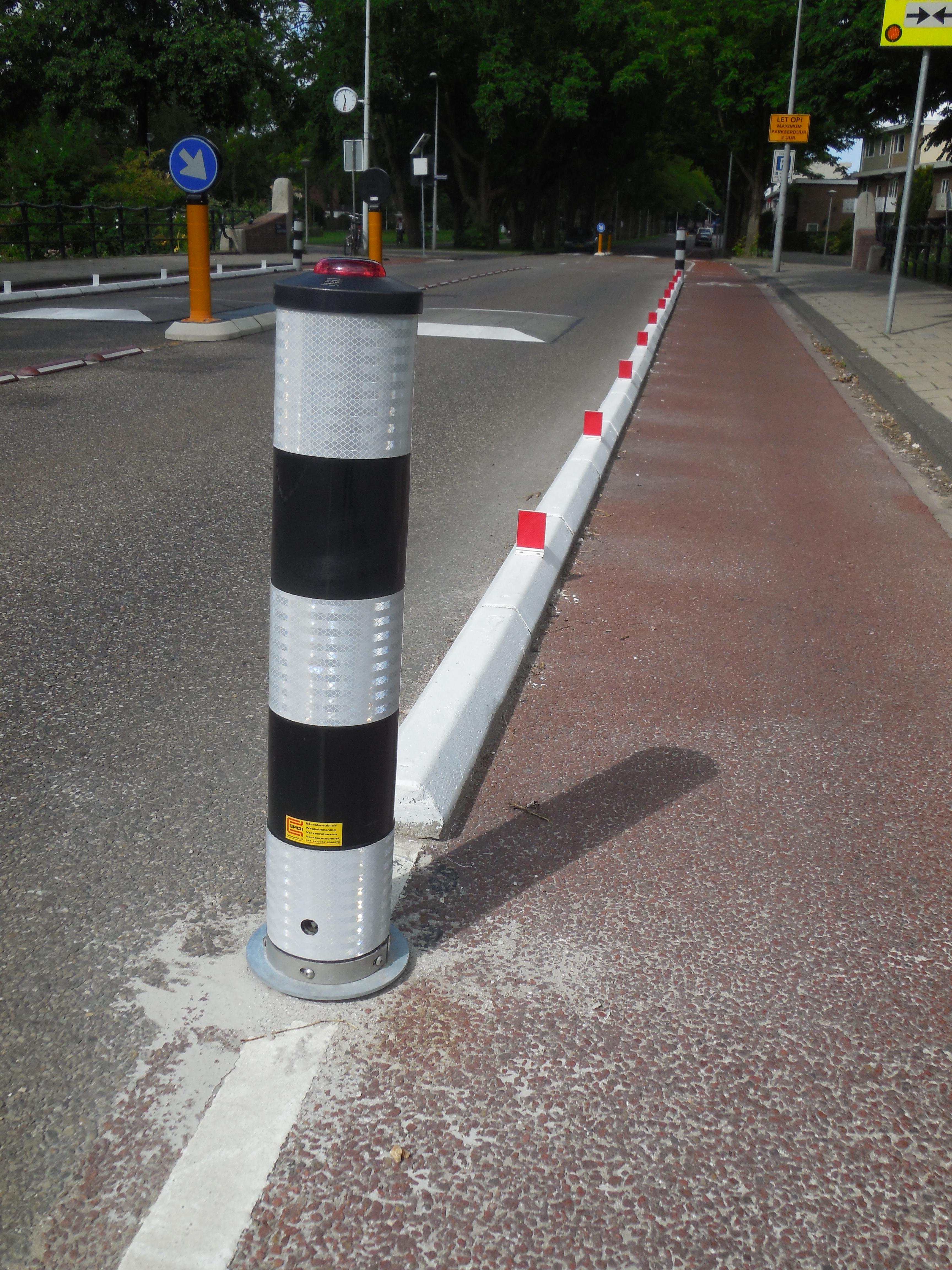 Wegneembare Flexpost Verkeerszuil BB22 / BB21