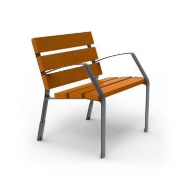 Buiten Zitbank model Modo stoel 08