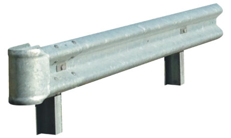 Stalen geleiderails