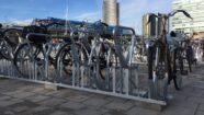Dubbelzijdige fietsenrekken Sloterdijk